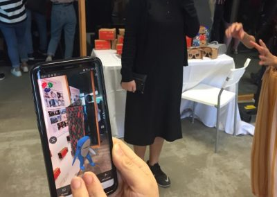 12 Augmented Reality in action.