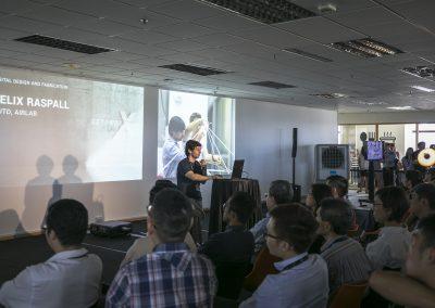 3 Felix Raspall from SUTD AIRLAB at BeyondX, sharing 3D Digital Design Fabrication