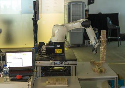 4 Robotics BeyondX JENGA BLOCK building