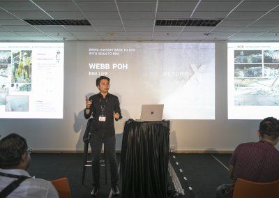 8 Webb Poh explaining BIM LIFE